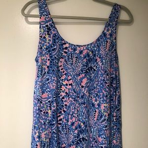 GUC Lilly Pulitzer Tank Top Tic Tac Tile